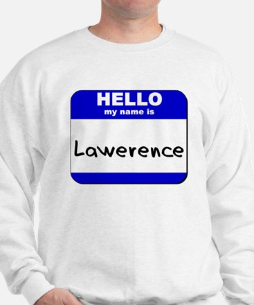 hello my name is lawerence Sweater