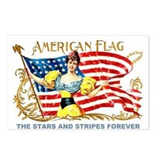 Stars and Stripes Forever Postcards (Package of 8)