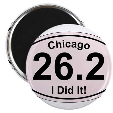 Chicago Marathon Magnets