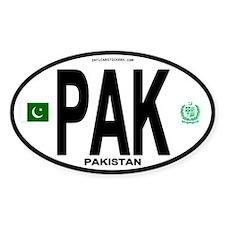 Pakistan Intl Oval Oval Decal