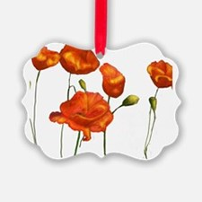 Poppies Ornament