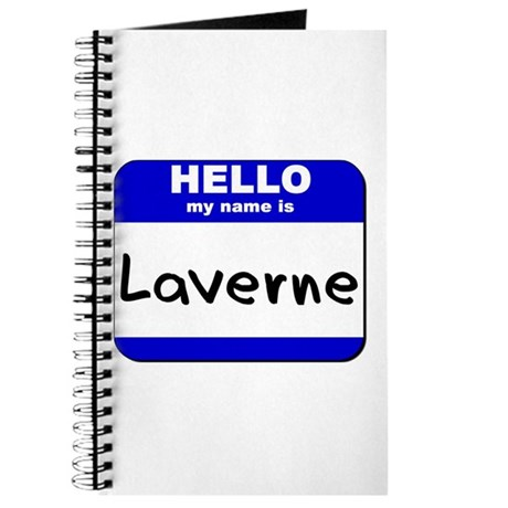 hello my name is laverne Journal