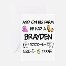 Brayden had a Farm Greeting Cards (Pk of 10)