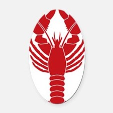 Lobster Oval Car Magnet