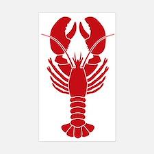 Lobster Sticker (Rectangle)
