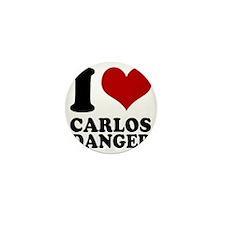 I heart Carlos Danger Mini Button