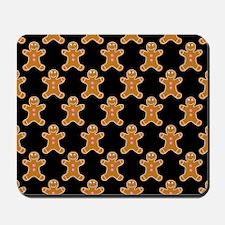 'Gingerbread Men' Mousepad
