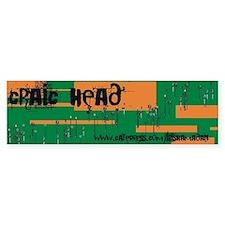 craic head Sticker 2(Bumper)