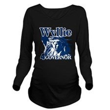 Adrian Wyllie Long Sleeve Maternity T-Shirt