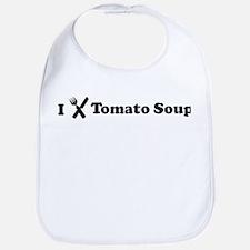 I Eat Tomato Soup Bib