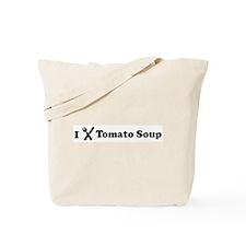 I Eat Tomato Soup Tote Bag