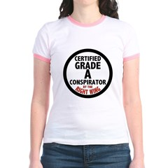 Right Wing Conspirator Women's Ringer T-Shirt