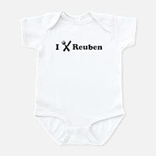 I Eat Reuben Infant Bodysuit