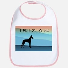 Ibizan Blue Mountains Bib