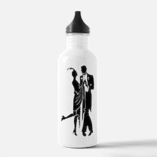 Elegant 1920s Couple D Water Bottle