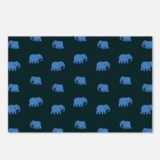 elephants Postcards (Package of 8)