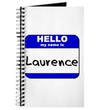 hello my name is laurence Journal