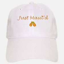 Just Maui'd Pineapple Logo Baseball Baseball Cap