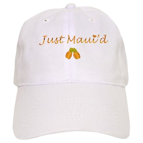 Just Maui'd Pineapple Logo Cap