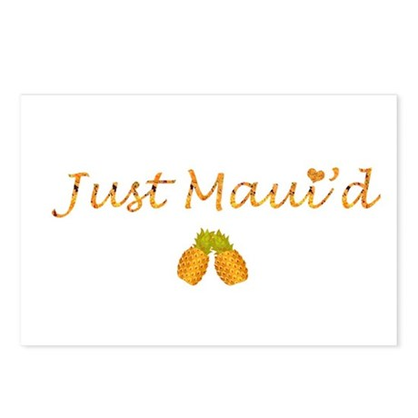 Just Maui'd Pineapple Logo Postcards (Package of 8