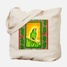 Amazon Red Lored Parrot Tote Bag