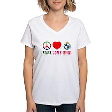 Peace Love Uruguay Shirt