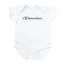 I Eat Tartar Sauce Infant Bodysuit