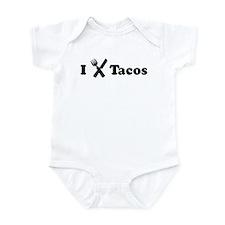 I Eat Tacos Infant Bodysuit