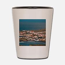 Coastal parish Shot Glass