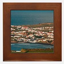 Coastal parish Framed Tile