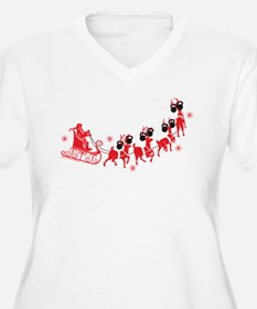 Reindeer Games Plus Size T-Shirt