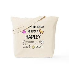 Hadley had a Farm Tote Bag