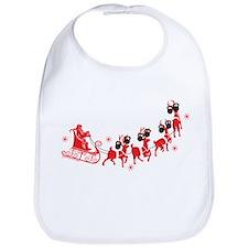 Reindeer Games Small Bib