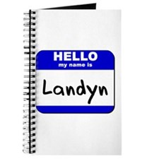 hello my name is landyn Journal