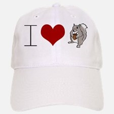 Funny Scientology: I Heart Squirrels Cap