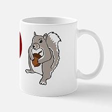 Funny Scientology: I Heart Squirrels Mug