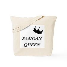 Samoan Queen Tote Bag
