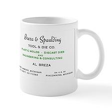 Breza and Spaulding Tool and Die Mug
