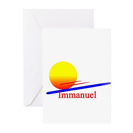Immanuel Greeting Cards (Pk of 10)