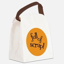 Sew Sassy - Full of Scrap! Canvas Lunch Bag