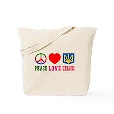 Peace Love Turks And Caicos Islands Tote Bag