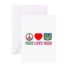 Peace Love Turks And Caicos Islands Greeting Card
