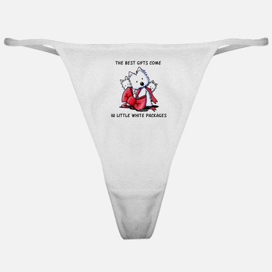 Westie Gift Classic Thong