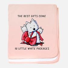 Westie Gift baby blanket