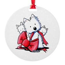 Westie Gift Ornament
