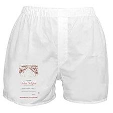 Saint Stephe Vineyard Poster Boxer Shorts