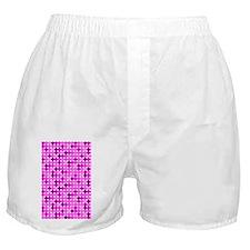 Pink and Purple Polka Dots Boxer Shorts