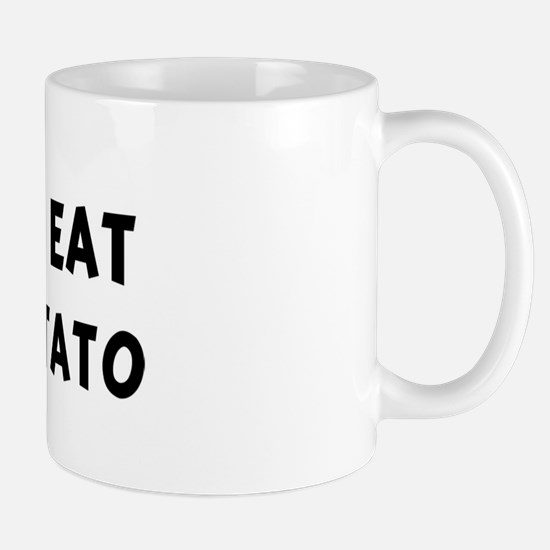 Men eat Sweet Potato Mug
