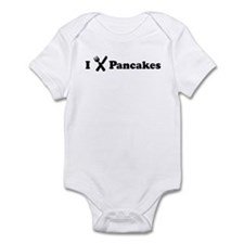 I Eat Pancakes Infant Bodysuit