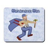 Maintenance man Mouse Pads